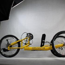 Oracing-Nat-M_Liegebike_Liegerad_Mountainbike_gelb