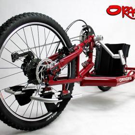 Oracing Nat-M_Liegebike_Liegerad_Mountainbike_rot